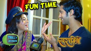 EXCLUSIVE: Fun On The Sets With Lakshya And Ragini | Swaragini