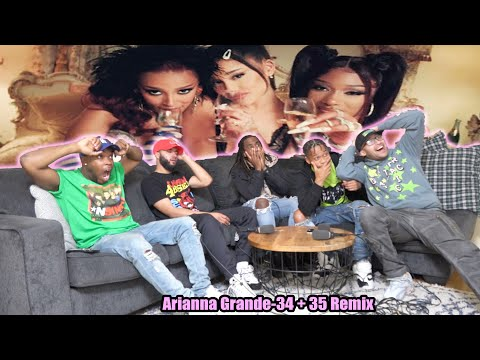 Ariana Grande - 34+35 Remix (feat. Doja Cat and Megan Thee Stallion) (Official Video) Reaction