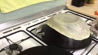 getlinkyoutube.com-عجينة خبز الصاج تصلح لكل شي للحم العجين والشاورما لدلال حناوي