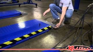 getlinkyoutube.com-Kernel HR6K-70 High Rise 6,600 Lb Capacity Scissor Car Lift
