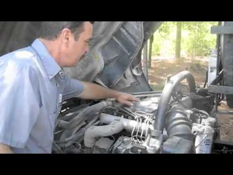 Busbee's How to find the engine model number Mits Fuso