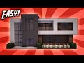 Minecraft: How To Build A Small Modern House Tutorial #13