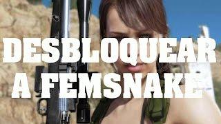 getlinkyoutube.com-Truco Metal Gear Solid V - Como conseguir a FemSnake