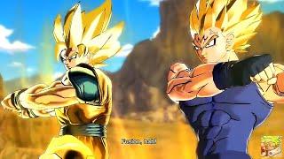 getlinkyoutube.com-Majin Vegeta and Majin Goku Fusion (MOD) Dragon Ball Xenoverse [60FPS 1080p]