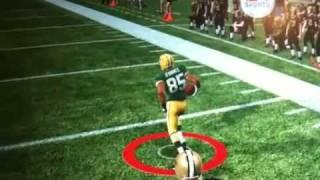 getlinkyoutube.com-Greg Jennings (Broken Leg) scores on the saints