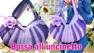 getlinkyoutube.com-Tutorial borsa all'uncinetto. | How to crochet a bag