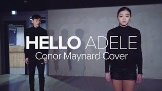 getlinkyoutube.com-Hello - Adele , Conor Maynard cover / Jay Kim Choreography