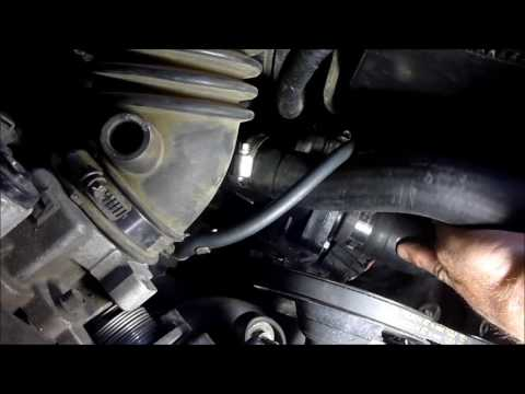 01 FORD ESCAPE THERMOSTAT REPLACEMENT