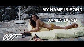 Best Of : My name is Bond, James Bond !