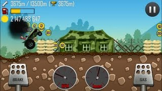 getlinkyoutube.com-Hill Climb Racing - Tractor 8422m  in Boot Camp