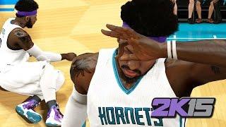 NBA 2k15 MyCAREER Gameplay Playoffs ECF3 - Custom Nike LeBron 11 - Bridges Swagged Out for Ladies