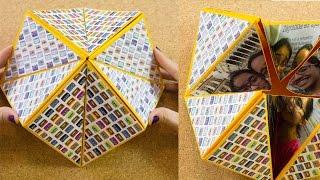 getlinkyoutube.com-Carta origami flexahedron | Craftingeek