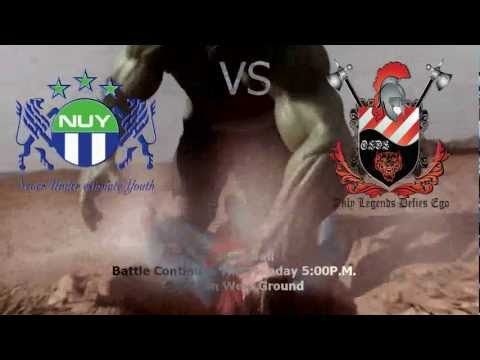 OLDE vs NUY on Monday Ball - Superman vs Hulk - The Fight (P