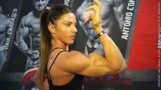 getlinkyoutube.com-Anastasia Papoutsaki fresh face in the women's physique industry