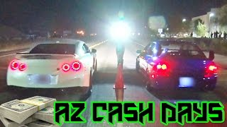 getlinkyoutube.com-Street Racing THROWDOWN - Arizona CASH DAYS!