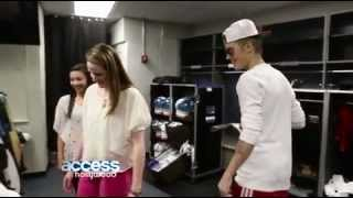 getlinkyoutube.com-Missy Franklin Meets Justin Bieber