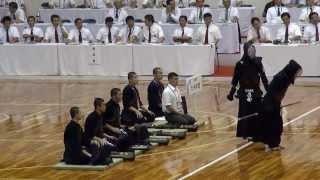 getlinkyoutube.com-九州学院 悲願の優勝 残り7秒で逆転 インターハイ剣道2013