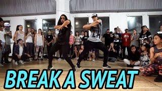 "getlinkyoutube.com-""BREAK A SWEAT"" - Becky G Dance | @MattSteffanina Choreography (@iambeckyg #DanceAndSweat)"