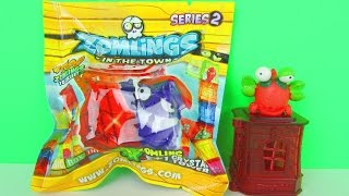 getlinkyoutube.com-Zomlings Series 2 Surprise Blind Bags Kids Toy Review & Opening, Magic Box Int