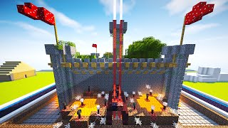 getlinkyoutube.com-MOST DEFENDED REDSTONE FORTRESS (Safest Redstone House)