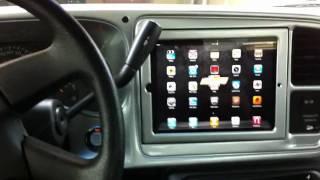 getlinkyoutube.com-Motorized iPad 2 Install in Silverado