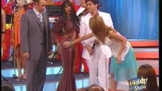 Galilea Montijo vestida de Selena