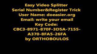 getlinkyoutube.com-Easy Video Splitter Key Code