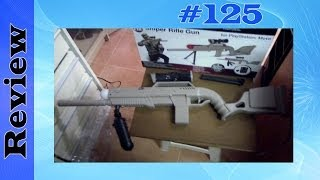 cta digital sniper rifle gun playstation 3 move gun attachment (ps3) unboxing & review