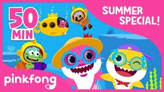 Baby Shark Dance and more | Summer Song Compilation | Kids Songs | Pinkfong Songs for Children width=