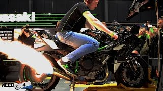 kawasaki h2r - FULL DYNO TEST RUN !!