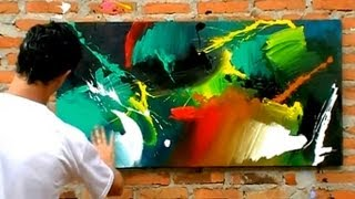 getlinkyoutube.com-Pintura Contemporânea- Fabiano Millani #artemoderna