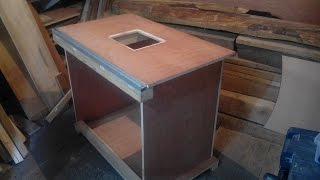 getlinkyoutube.com-Фрезерный стол своими руками | router table homemade