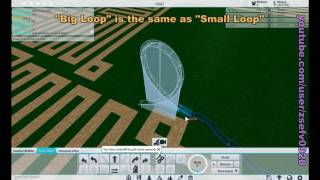 "getlinkyoutube.com-[ Roblox Tutorial ] Theme Park Tycoon 2 ""Loops"" and ""Black Hole"""