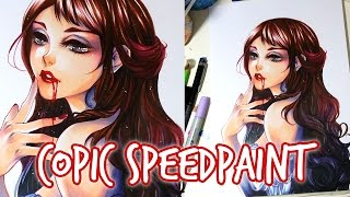 getlinkyoutube.com-COPIC Speedpaint: Bloodlust