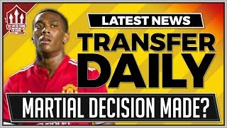 Mourinho Makes Martial Transfer Decision? Man Utd Transfer news