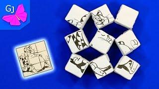 getlinkyoutube.com-Волшебные танцующие оригами кубики