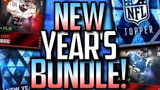 getlinkyoutube.com-New Year's Bundle! NEW Rising Stars Players! Madden Mobile