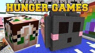 getlinkyoutube.com-Minecraft: SO KAWAII HUNGER GAMES - Lucky Block Mod - Modded Mini-Game