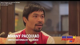 MANNY PACQUIAO TINIRA ANG LGBT COMMUNITY | Supermj | Manny Pacquiao