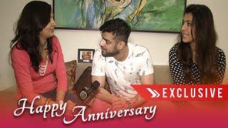 getlinkyoutube.com-Interview: Karan Patel & Ankita's First Anniversary Celebration With Telly Masala   Exclusive