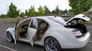 getlinkyoutube.com-2007 Mercedes-Benz S550 Custom Wheels