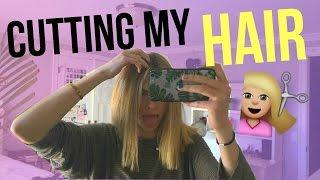 I CUT MY OWN HAIR // Summer Mckeen