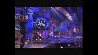 "getlinkyoutube.com-Jim singing ""Proud Mary"" by Ike and Tina Turner - Liveshow 8 - Idols season 1"