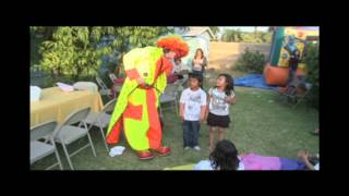 getlinkyoutube.com-Kids Party Clowns For Hire and All Birthday Clown Rentals