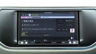 getlinkyoutube.com-楽ナビを自動車誌編集部員が試す!(2) 楽ナビってホント、楽チンだぁ