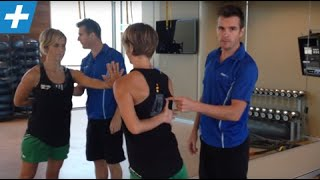 getlinkyoutube.com-How to Fix the Winging Shoulder Blade / Scapula | Feat. Tim Keeley | No.13 | Physio REHAB