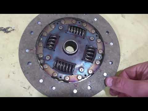 Сцепление от 21 Волги на Honda CR-V rd1