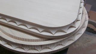 getlinkyoutube.com-Нанесение декора на изделия из дерева. Часть 2. Milling decorating the tree. Part 2.