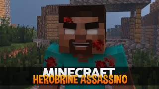 getlinkyoutube.com-Minecraft: O Herobrine Assassino! (Corações do Herobrine)