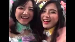 jkt48 video lucu diluar pervom gemesin banget..unyu-unyu